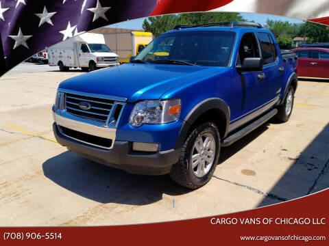 2010 Ford Explorer Sport Trac for sale at Cargo Vans of Chicago LLC in Mokena IL