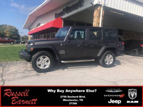 2016 Jeep Wrangler Unlimited for sale at Russell Barnett Chrysler Dodge Jeep Ram in Winchester TN