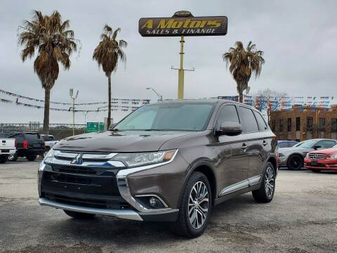 2017 Mitsubishi Outlander for sale at A MOTORS SALES AND FINANCE in San Antonio TX