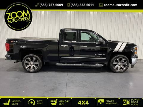 2015 Chevrolet Silverado 1500 for sale at ZoomAutoCredit.com in Elba NY