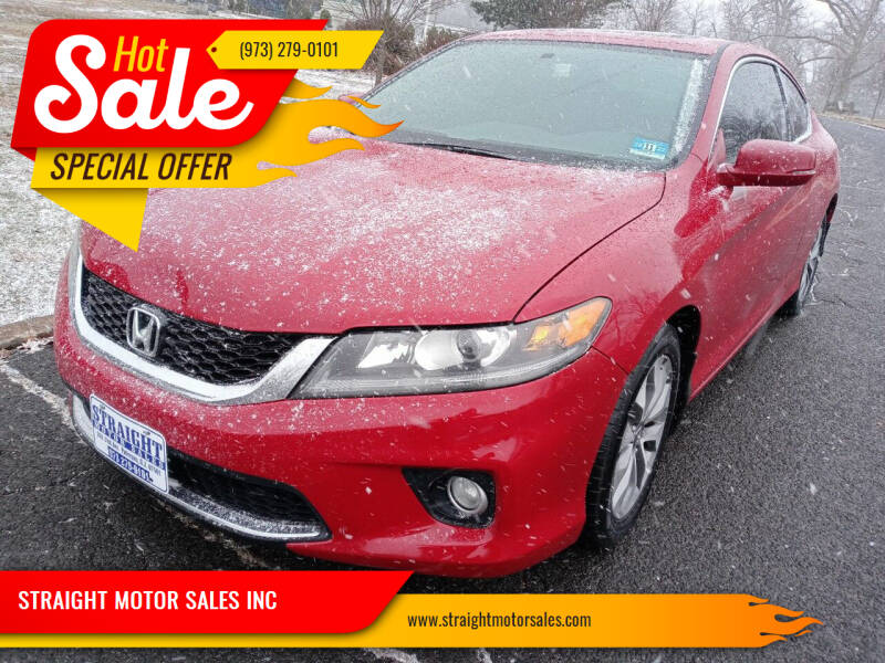 2014 Honda Accord for sale at STRAIGHT MOTOR SALES INC in Paterson NJ