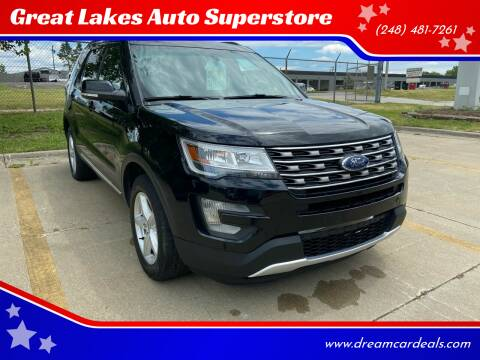 2016 Ford Explorer for sale at Great Lakes Auto Superstore in Waterford Township MI