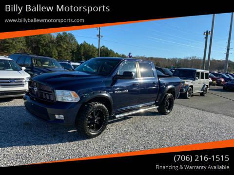 2012 RAM Ram Pickup 1500 for sale at Billy Ballew Motorsports in Dawsonville GA
