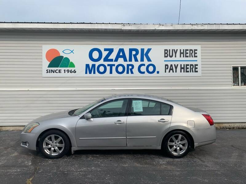 2004 Nissan Maxima for sale at OZARK MOTOR CO in Springfield MO