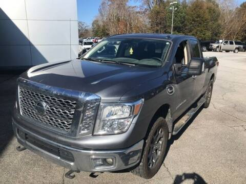 2017 Nissan Titan XD for sale at BILLY HOWELL FORD LINCOLN in Cumming GA