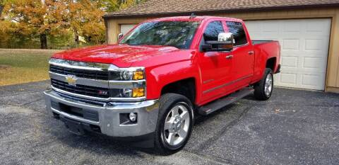 2016 Chevrolet Silverado 2500HD for sale at DANVILLE AUTO SALES in Danville IN