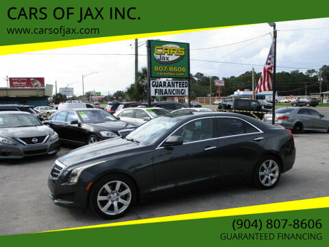 2014 Cadillac ATS for sale at CARS OF JAX INC. in Jacksonville FL