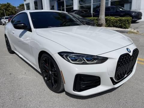 2021 BMW 4 Series for sale at DORAL HYUNDAI in Doral FL