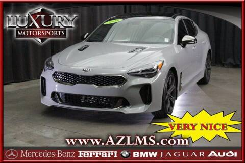 2019 Kia Stinger for sale at Luxury Motorsports in Phoenix AZ