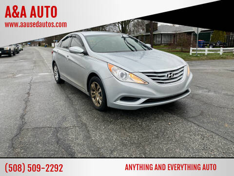 2012 Hyundai Sonata for sale at A&A AUTO in Fairhaven MA