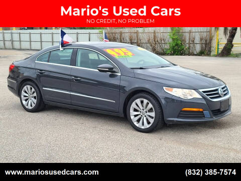 2012 Volkswagen CC for sale at Mario's Used Cars - Pasadena Location in Pasadena TX
