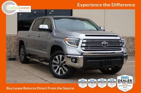 2020 Toyota Tundra for sale at Dallas Auto Finance in Dallas TX