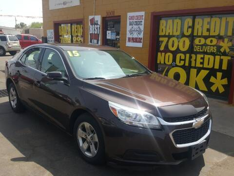 2015 Chevrolet Malibu for sale at Sunday Car Company LLC in Phoenix AZ