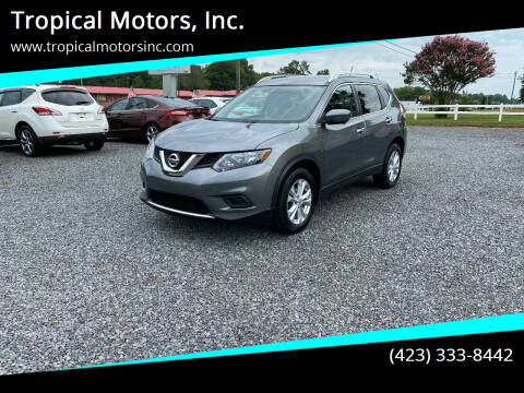 2016 Nissan Rogue for sale at Tropical Motors, Inc. in Riceville TN