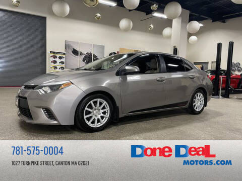 2015 Toyota Corolla for sale at DONE DEAL MOTORS in Canton MA