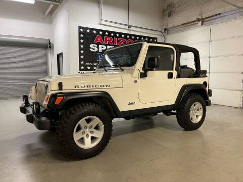 2005 Jeep Wrangler for sale at Arizona Specialty Motors in Tempe AZ