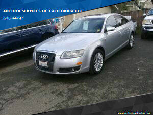 2007 Audi A6 for sale at AUCTION SERVICES OF CALIFORNIA in El Dorado CA