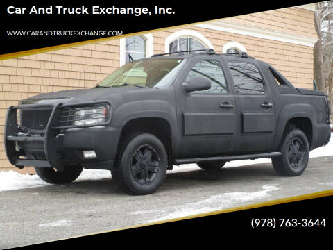 2009 Chevrolet Avalanche for sale at Car and Truck Exchange, Inc. in Rowley MA