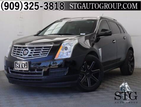 2015 Cadillac SRX for sale at STG Auto Group in Montclair CA