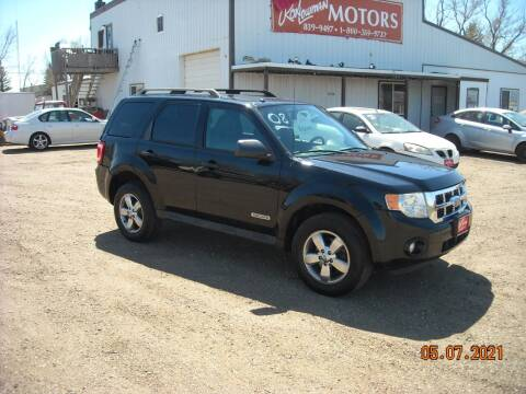 2008 Ford Escape for sale at Ron Lowman Motors Minot in Minot ND