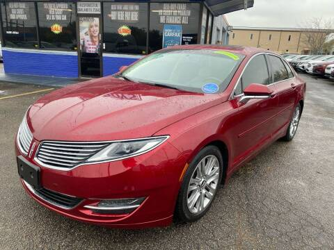 2015 Lincoln MKZ for sale at Cow Boys Auto Sales LLC in Garland TX