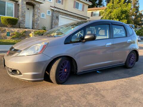 2010 Honda Fit for sale at CALIFORNIA AUTO GROUP in San Diego CA