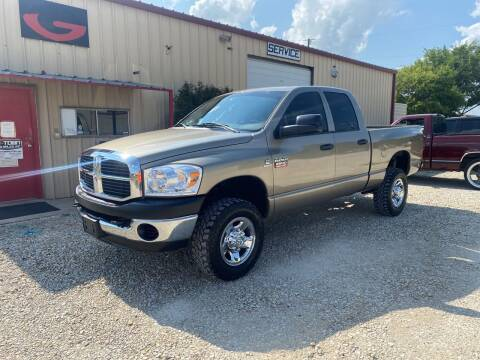 2008 Dodge Ram Pickup 2500 for sale at Gtownautos.com in Gainesville TX