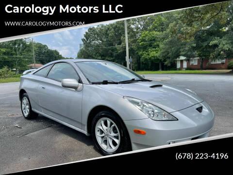 2000 Toyota Celica for sale at Carology Motors LLC in Marietta GA