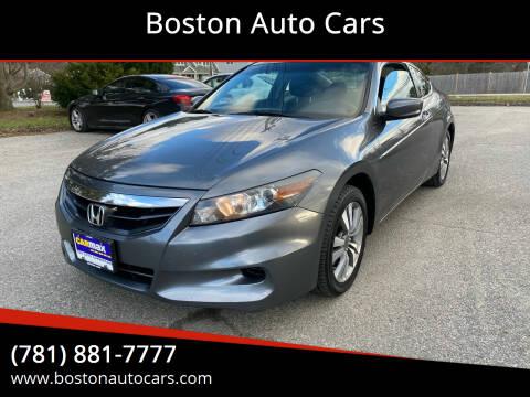 2012 Honda Accord for sale at Boston Auto Cars in Dedham MA