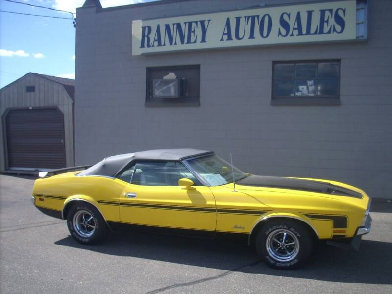 1972 Ford Mustang for sale at Ranney's Auto Sales in Eau Claire WI
