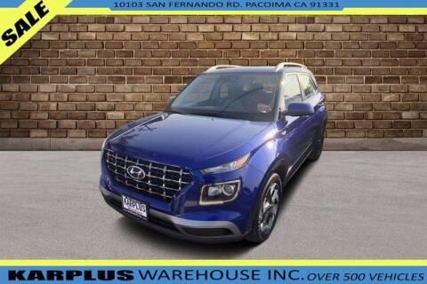 2021 Hyundai Venue for sale at Karplus Warehouse in Pacoima CA