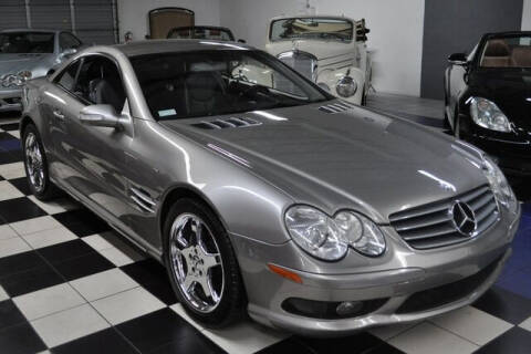 2003 Mercedes-Benz SL-Class for sale at Podium Auto Sales Inc in Pompano Beach FL