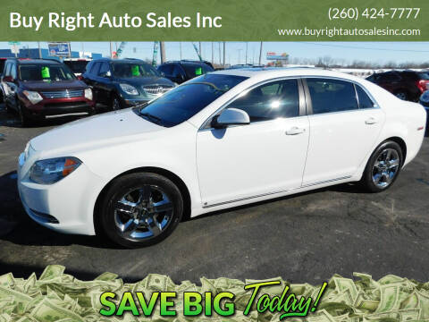 2009 Chevrolet Malibu for sale at Buy Right Auto Sales Inc in Fort Wayne IN