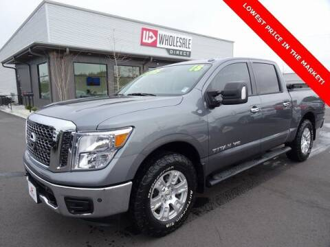 2018 Nissan Titan for sale at Wholesale Direct in Wilmington NC