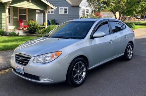2007 Hyundai Elantra for sale at DASH AUTO SALES LLC in Salem OR