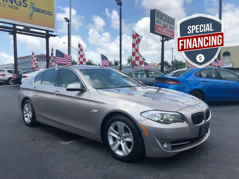 2013 BMW 5 Series for sale at MACHADO AUTO SALES in Miami FL