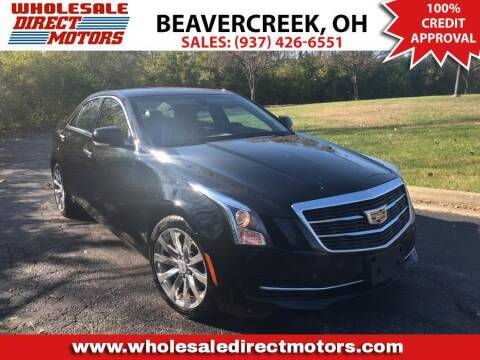 2017 Cadillac ATS for sale at WHOLESALE DIRECT MOTORS in Beavercreek OH