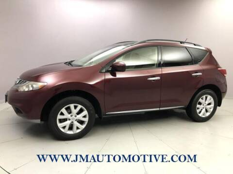 2011 Nissan Murano for sale at J & M Automotive in Naugatuck CT