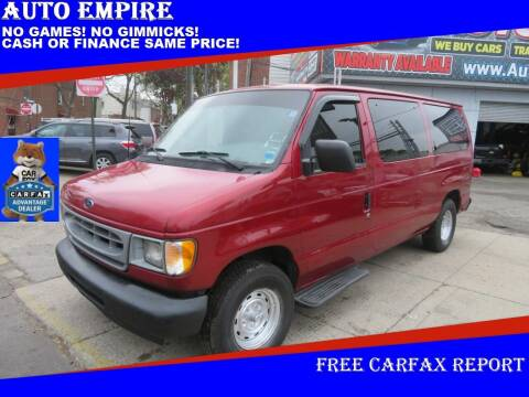 2002 Ford E-Series Wagon for sale at Auto Empire in Brooklyn NY