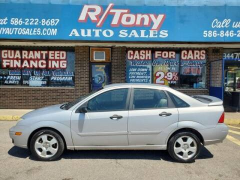2007 Ford Focus for sale at R Tony Auto Sales in Clinton Township MI