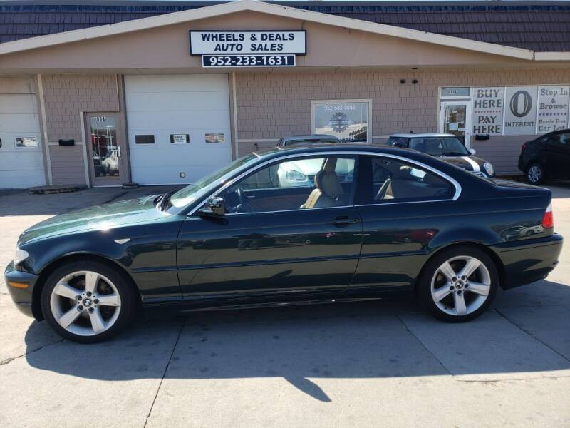 2006 BMW 3 Series for sale at Wheels & Deals Auto Sales in Shakopee MN