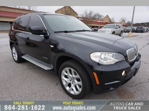 2013 BMW X5 for sale at Auto Q Car and Truck Sales in Mauldin SC