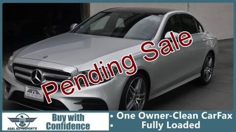 2018 Mercedes-Benz E-Class for sale at ASAL AUTOSPORTS in Corona CA