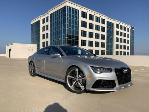 2016 Audi RS 7 for sale at SIGNATURE Sales & Consignment in Austin TX
