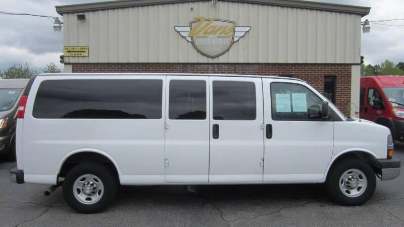 2016 Chevrolet Express Passenger for sale at Vans Of Great Bridge in Chesapeake VA