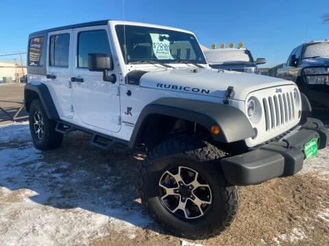 2014 Jeep Wrangler Unlimited for sale at BISMAN AUTOWORX INC in Bismarck ND