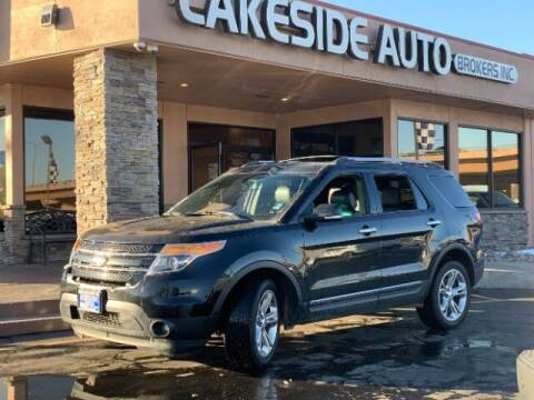 2015 Ford Explorer for sale at Lakeside Auto Brokers in Colorado Springs CO