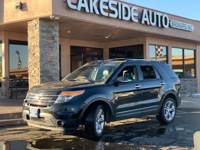 2015 Ford Explorer for sale at Lakeside Auto Brokers Inc. in Colorado Springs CO