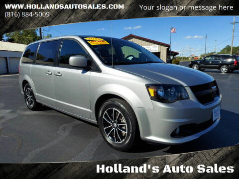 2018 Dodge Grand Caravan for sale at Holland's Auto Sales in Harrisonville MO