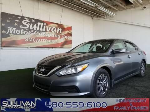 2018 Nissan Altima for sale at SULLIVAN MOTOR COMPANY INC. in Mesa AZ